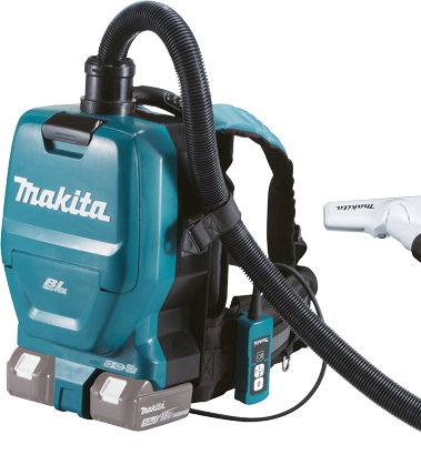 Makita Twin 18v Backpack Vacuum Cleaner Dvc260 Z